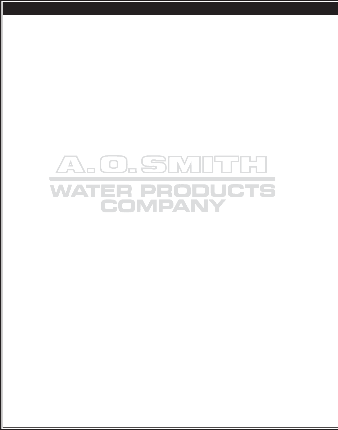 Ao Smith Water Heater 101 Series Manual Page 2 Of 4 Wiring Diagram