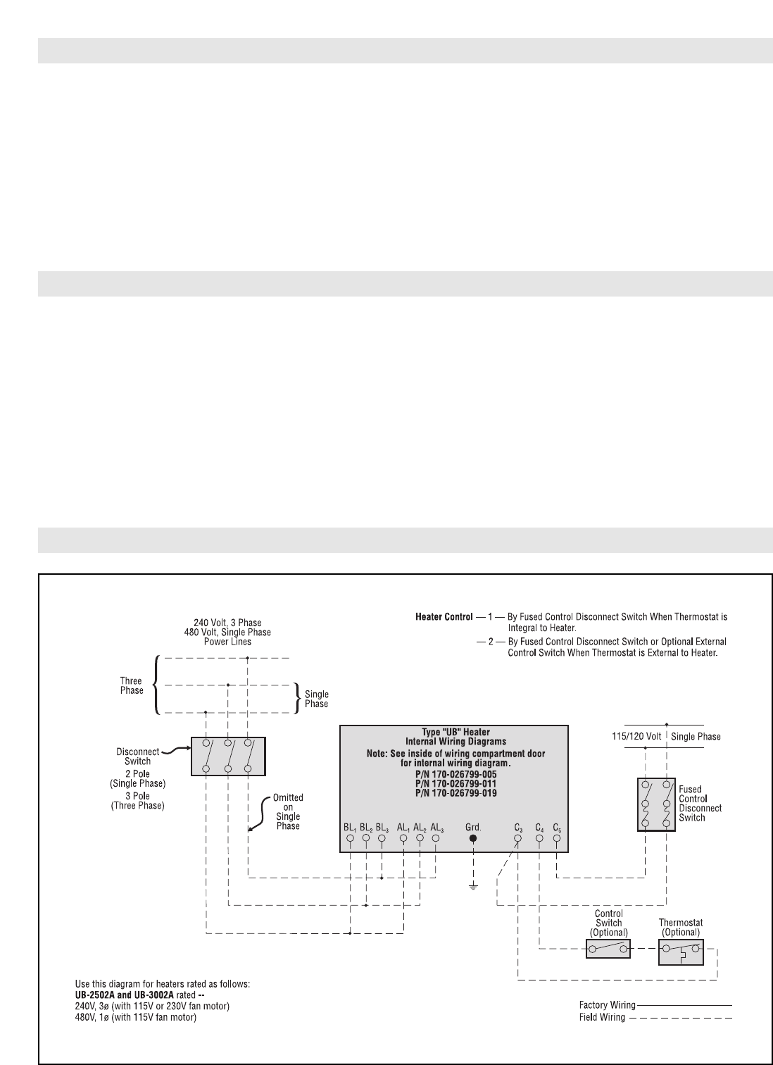 Chromalox Air Conditioner UB-2502A manual (page 2 of 8) on heater pump diagram, heater radiator, thermo king reefer unit diagram, voltage regulator diagram, heater control diagram, heater coil diagram, heater thermostat diagram, water heater installation diagram, heater hoses diagram, wiper motor diagram, home heating diagram, solar panel inverter circuit diagram, heater circuit diagram, thermo king tripac apu diagram, doorbell installation diagram, transmission diagram, reddy heater parts diagram, tankless water heater diagram, doorbell wire connection diagram, plc input and output diagram,