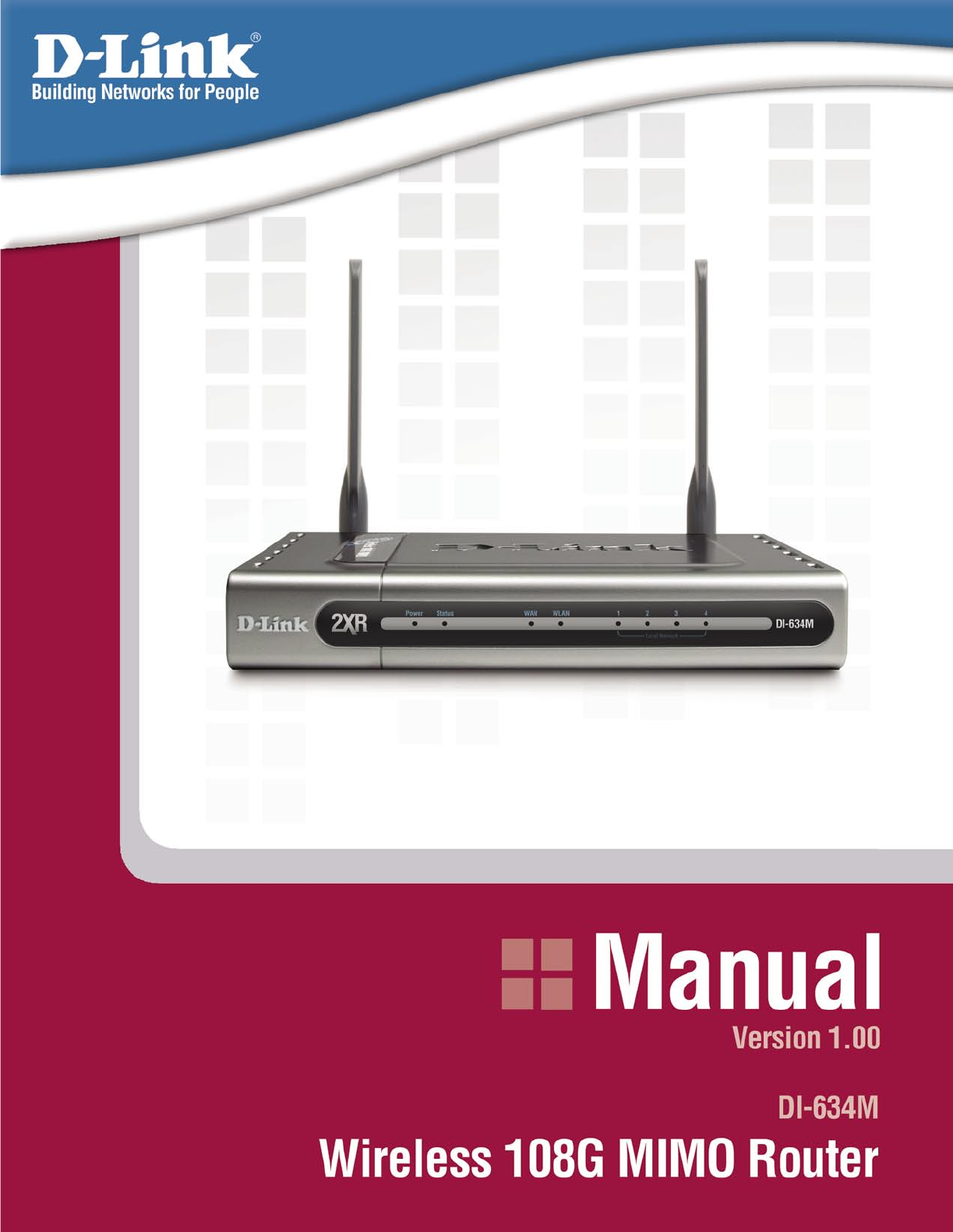 how to open d link router