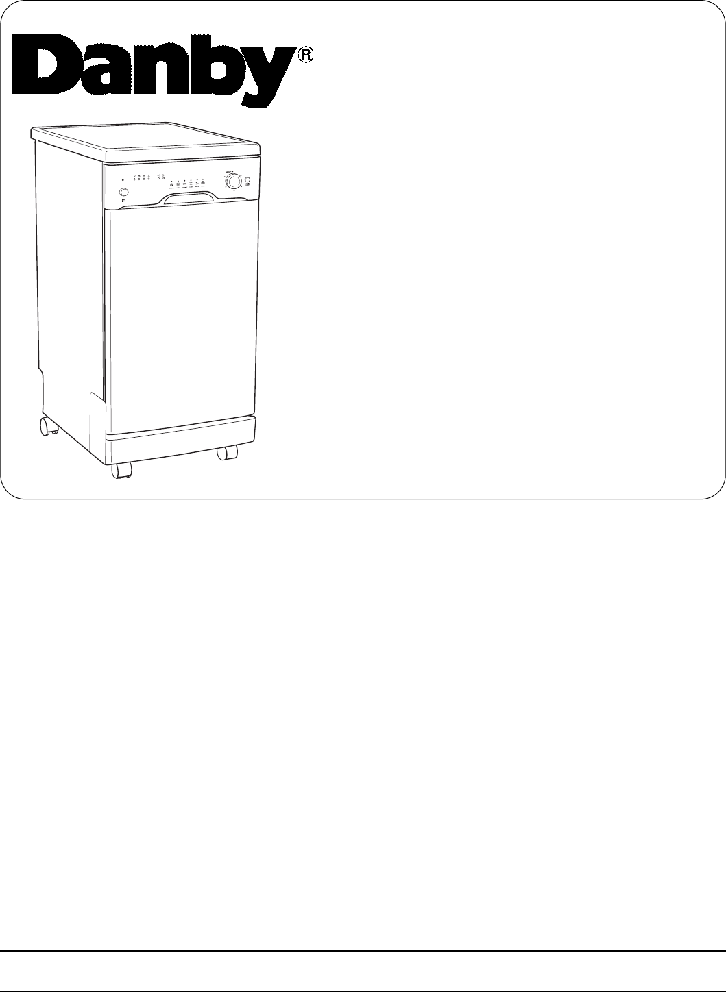 how to connect dishwasher danby