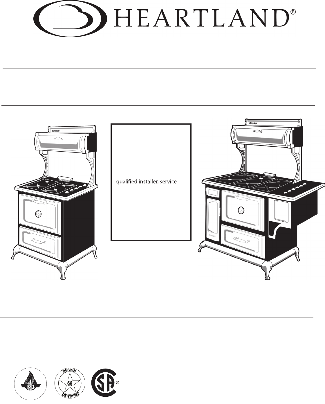 Download Heartland Range 7200 Manual And User Guides  Page