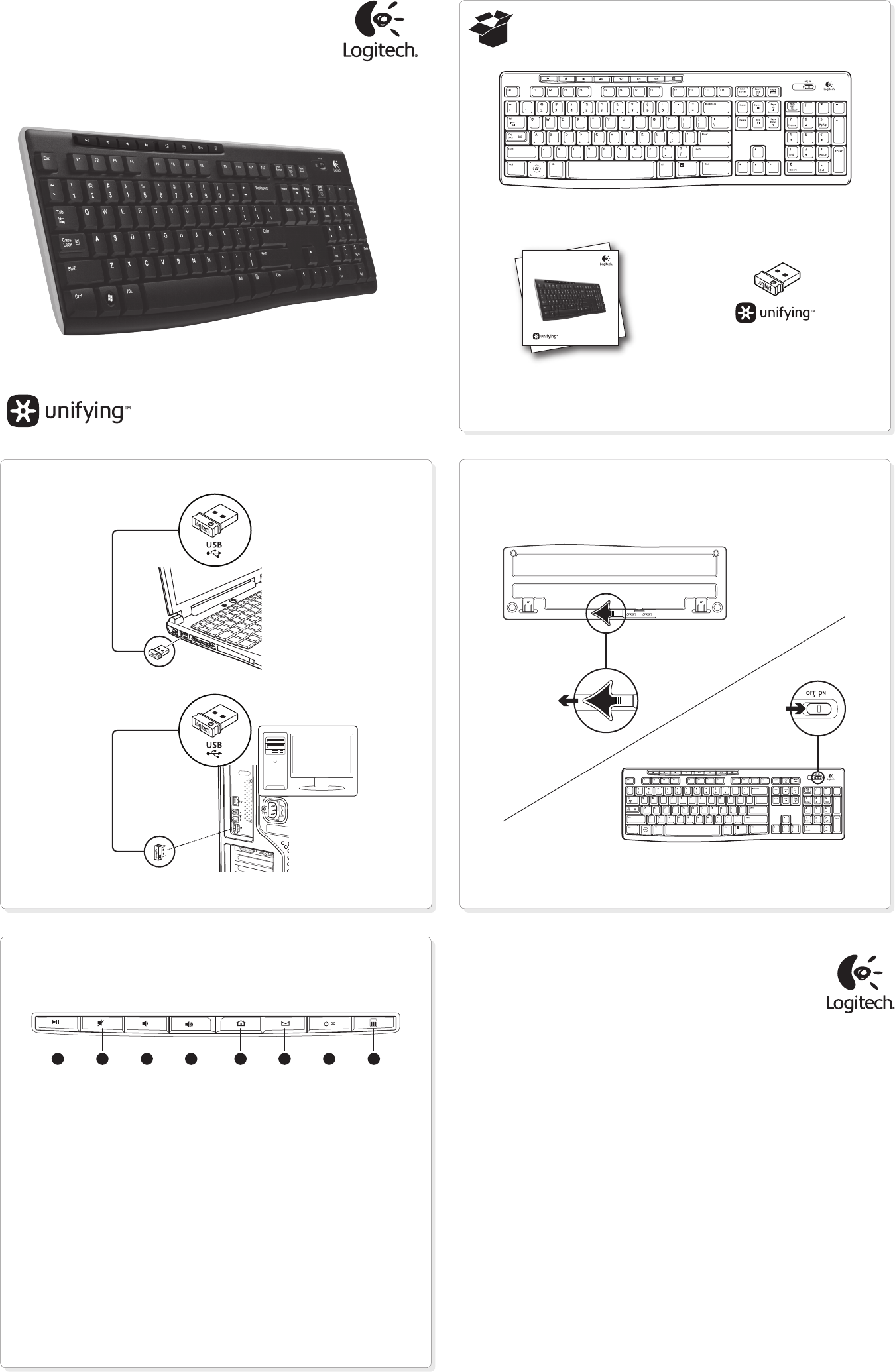 Manual for Logitech Keyboard