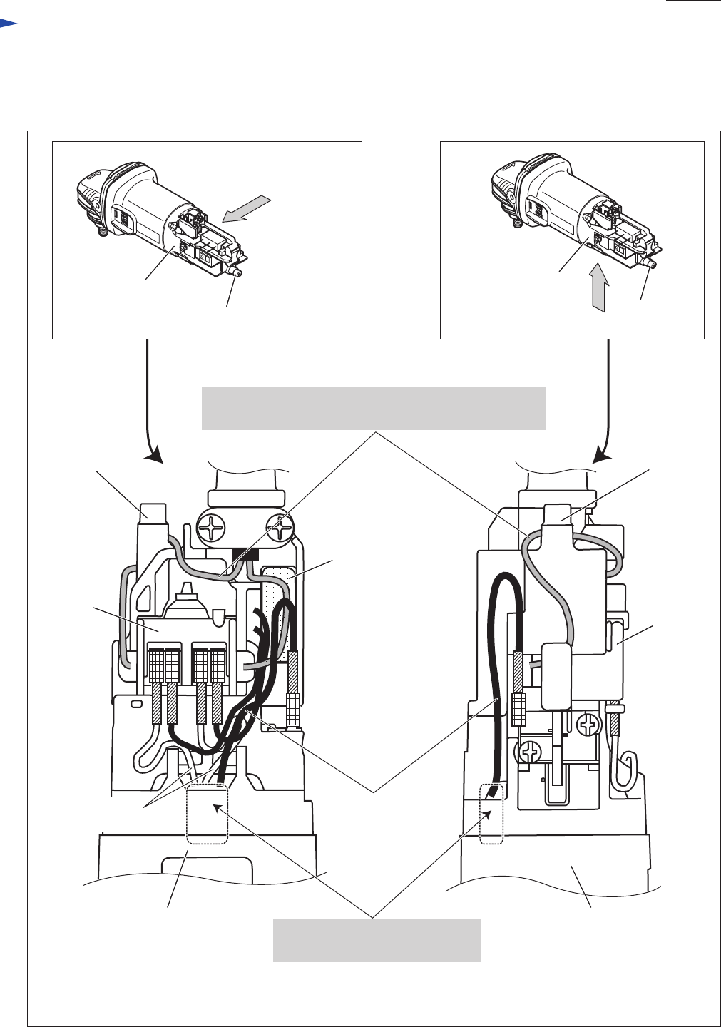 makita grinder 9556hn manual  page 7 of 8