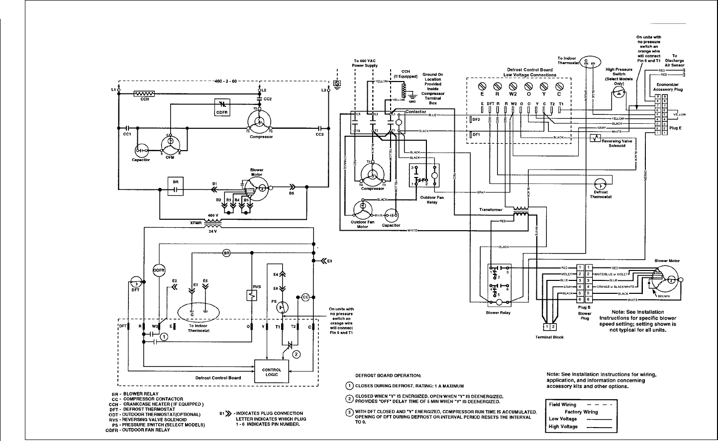 wiring diagram intertherm air conditioner