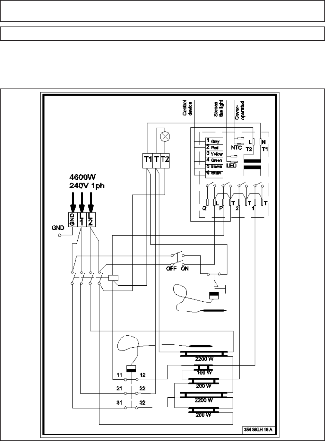 Saunatec Hot Tub 1108 46 Manual Page 8 Of 13 Wiring Diagram Together With Controller Installation Operation Instructions