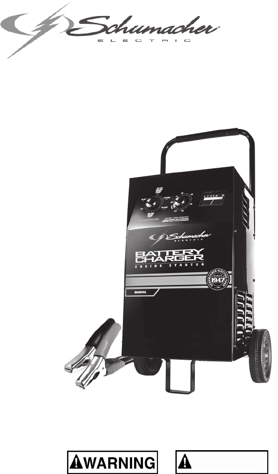 Schumacher Battery Charger Se Manual Guide